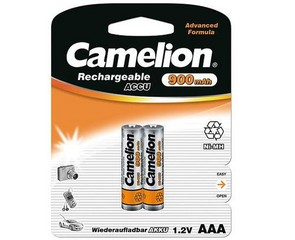 CAMELION 2pack AAA/HR03 900mAh nabíjecí baterie 1.2V Ni-MH