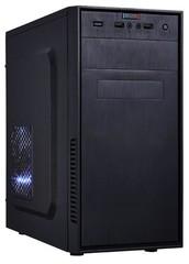 EUROCASE MC X201 ATX black černý, bez zdroje, microtower mATX (USB2+Audio)