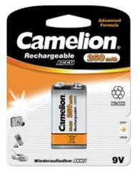 CAMELION E-BLOK 6HR61 250mAh nabíjecí baterie 9V Ni-MH