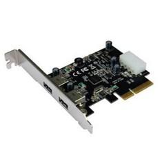 ST-LAB U-1130 PCIE 2x USB3.1 interní karta (2x externí konektor typ A) řadič