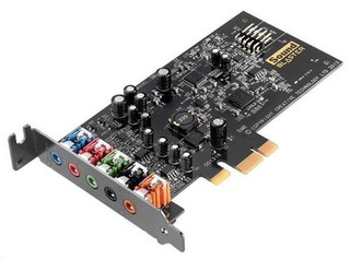 CREATIVE Sound Blaster Audigy FX retail PCI-Express zvuková karta (5.1, 106dB, SBX Pro)