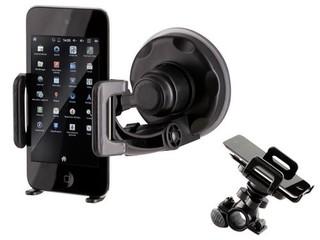 TRACER P10 univerzální držák pro mobilní telefony a Smartphony, přísavka do auta, úchyt na kolo