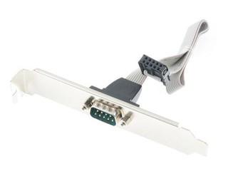 GIGABYTE COM-PORT pro motherboardy GIGABYTE (1x COM port 9pin, záslepka, bracket)