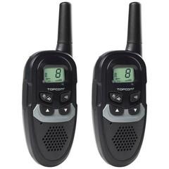 TOPCOM TwinTalker RC-6410 2x vysílačka (volné pásmo 446 MHz, PMR)