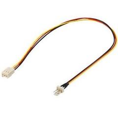 KABEL prodlužovací kabel k ventilátoru 3pin(M) - 3pin(F) , 30cm
