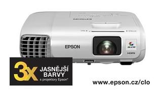 EPSON projektor EB-965H, 1024x768, 3500ANSI, 10.000:1, HDMI, USB 3-in-1, NET