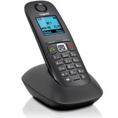 SIEMENS Gigaset A540 bezdrátový telefon, barevné podsvícení LCD, black