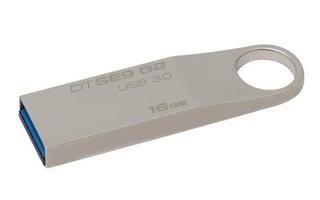 KINGSTON DataTraveler SE9 G2 16GB kovový USB3.0 flash drive (pevný konektor)