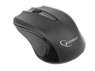 GEMBIRD myš MUSW-101 Wireless 1200dpi, optical, 2,4 GHz, USB přijímač, napájení 2x AAA