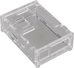 RASPBERRY case transparentní pro Raspberry Pi model B+, Rpi 2 B, Rpi 3 B