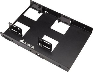 CORSAIR CSSD-BRKT2 redukce pro upevnění 2x 2.5in SSD / HDD do 3.5in pozice v case (kovový adaptér)
