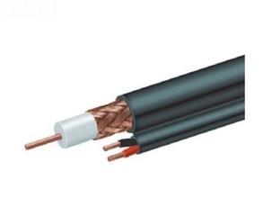 KABEL koaxiální RG59+napájení, PREMIUM dual, 75 Ohm, 300m, pro připojení CCTV kamer KGUARD/GEMBIRD