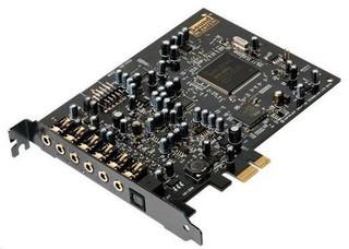 CREATIVE Sound Blaster Audigy RX PCI-Express zvuková karta (7.1, 106dB, EAX)
