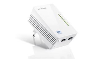 TP-LINK TL-WPA4220 1 kus 500Mbit Powerline Ethernet extender Wireless N 300Mbps, 1 kus, (wifi, homep