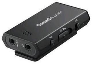 CREATIVE Sound Blaster E1, zesilovač sluchátek (externí zvukovka)