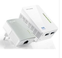 TP-LINK TL-WPA4220 STARTER-KIT 2 kusy 500Mbit Powerline Ethernet extender Wireless N 300Mbps, 2 kusy