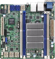 ASROCK RACK MB C2550D4I server MB (intel Avoton C2550, 4xDDR3, 8xSATA3 +4xSATA2, 2xGLAN, mini-ITX)