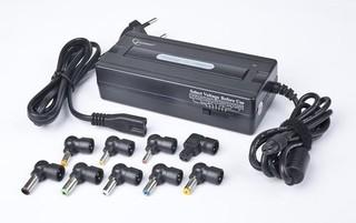 Nabíječka adaptér notebooků universal AC1-GS 90W 15-20V do sítě GEMBIRD, 8 konektorů, GS certifikace