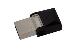 KINGSTON DataTraveler MicroDuo 64GB USB3.0 flash drive s OTG (pevný konektor + microUSB)
