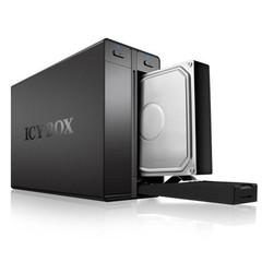 RAIDSONIC ICY BOX IB-RD3662U3S externí hliníkový box pro 2x 3.5