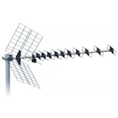 ISKRA DVB-T UHF ext. anténa DTX-48F s LTE filtrem 11-16dBi