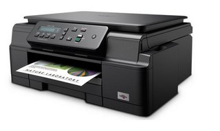 BROTHER DCP-J105 Print/Scan/Copy - 6000x1200, 11/6 stran/min LCD, WiFi, USB 2.0, mnk benefit