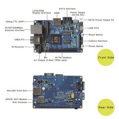 BANANA Pi M1+ jednodeskový počítač