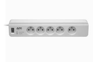 APC PM5-FR SurgeArrest Essential, přepěťová ochrana 230V, 5 zásuvek