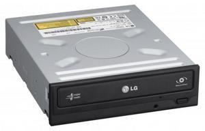 LG GH24NSD1 DVD±RW vypalovačka SATA zápis 24x DVD-R, 8x DL, 6x RW, 48x CD-R černá bez SW