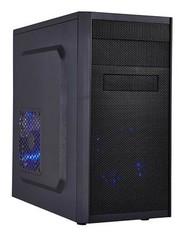EUROCASE MC X203 ATX black černý, bez zdroje, microtower mATX (2xUSB2 + 0xUSB3, +Audio)