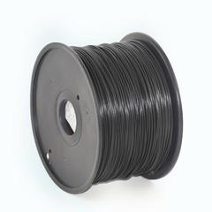 GEMBIRD 3D ABS plastové vlákno pro tiskárny, průměr 1,75 mm, černé, 3DP-ABS1.75-01-BK