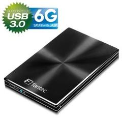 FANTEC DB-229U3-6G black externí hliníkový box pro 2.5