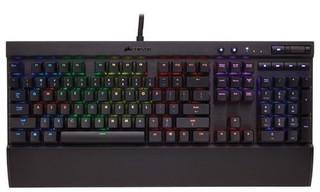 CORSAIR klávesnice GAMING K70 RAPIDFIRE RGB LED + Cherry MX SPEED, CZ verze, vícebarevné podsvícení,