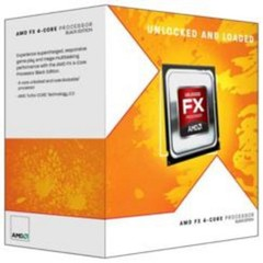 AMD cpu FX 4-Core 4320 Box AM3+ (4.0GHz / 4.2GHz, 4MB+4MB cache, 95W, 4jádro)
