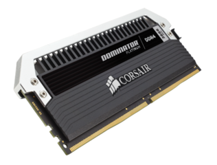 CORSAIR 128GB=8x16GB DDR4 2666MHz DOMINATOR PC4-21300 CL15-17-17-35 1.2V XMP2.0 (128GB=kit 8ks 16GB