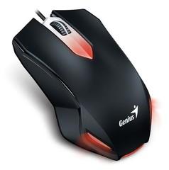 GENIUS myš GAMING X-G200 1000dpi, USB, černá, podsvícená, herní, drátová