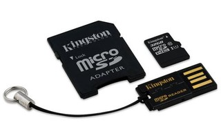 KINGSTON Mobility Kit ver2 micro SD card SDHC 32GB class10 (+USB čtečka + adaptér) (pro SDHC a SDXC