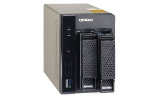 QNAP TS-253A TurboNAS server s iSCSI a RAID, 4GB DDR+ 512MB FLASH, pro 2x3,5/2.5