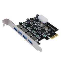 ST-LAB U-1270 PCIE 4x USB3.0 interní karta (4x externí konektor) řadič