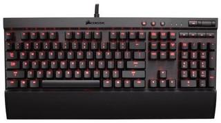 CORSAIR klávesnice GAMING K70 RAPIDFIRE RED LED + Cherry MX SPEED, CZ verze, červené podsvícení, MMO