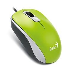 GENIUS myš DX-110 USB 1000dpi zelená