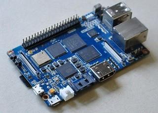 BANANA Pi M3 jednodeskový počítač