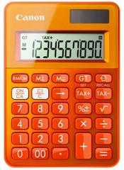 CANON kalkulačka LS-100K-MOR RR oranžová, stolní kalkulačka, duální napájení