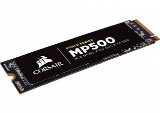 CORSAIR Force MP500 SSD 480GB M.2 NVMe PCIe Gen3 x4 MLC (čtení max. 3000MB/s, zápis max. 2400MB/s