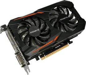 GIGABYTE VGA GV-N105TOC-4GD GeForce GTX1050Ti (4GB GDDR5, 128bit, DVI+HDMI+DPort, GTX 1050 Ti)
