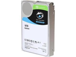 SEAGATE ST10000VX0004 SkyHawk hdd 10TB SATA3-6Gbps, 256MB cache (24x7) max 64 kamer, max 210MB/s