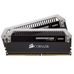 CORSAIR 16GB=2x8GB DDR4 3733MHz DOMINATOR PLATINUM BLACK PC4-29800 CL17-19-19-39 1.35V XMP2.0 (16GB=
