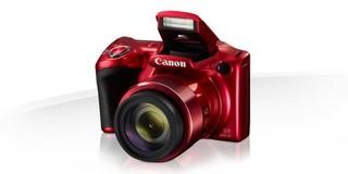CANON PowerShot SX420 IS digitální fotoaparát (červený, red), 20Mpix, 42x optický zoom