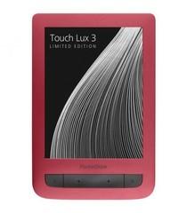 "POCKETBOOK Basic 2 626 B, 6"" E-Ink Pearl displej s LED osvětlením, 4GB, WiFi, červená"
