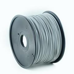 GEMBIRD 3D PLA plastové vlákno pro tiskárny, průměr 1,75 mm, šedé, 3DP-PLA1.75-01-GR